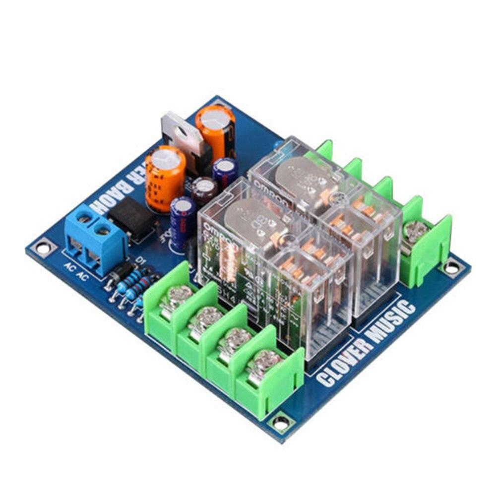 Dual OMRON Relay 7812+UPC1237 Speaker Protection Board Kit For HIFI DIY AC 12-24