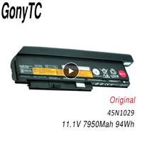 GONYTC 45n1029 Laptop Battery for Lenovo Thinkpad X230 X230I X230S 45N1028 45N1025 45N1024 45N1172 8.4Ah/94WH 9 Cells 44++