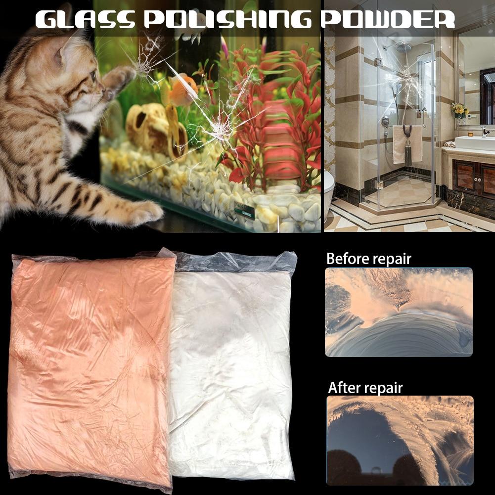 Image 3 - 100g Auto Glass Polishing Powder Car Scratch Remove Powder Cream Car Window Repair Tombarthite Cerium Oxide Car Polishing Powder-in Spot Rust & Tar Spot Remover from Automobiles & Motorcycles