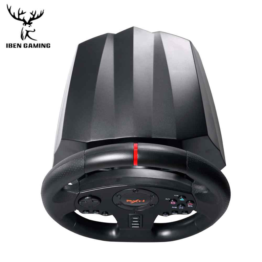 Игровая педаль рулевого колеса PXN V900 геймпад гоночная игра педаль рулевого колеса вибрация для ПК/PS3/4/Xbox-One/Xbox/переключатель 90 °