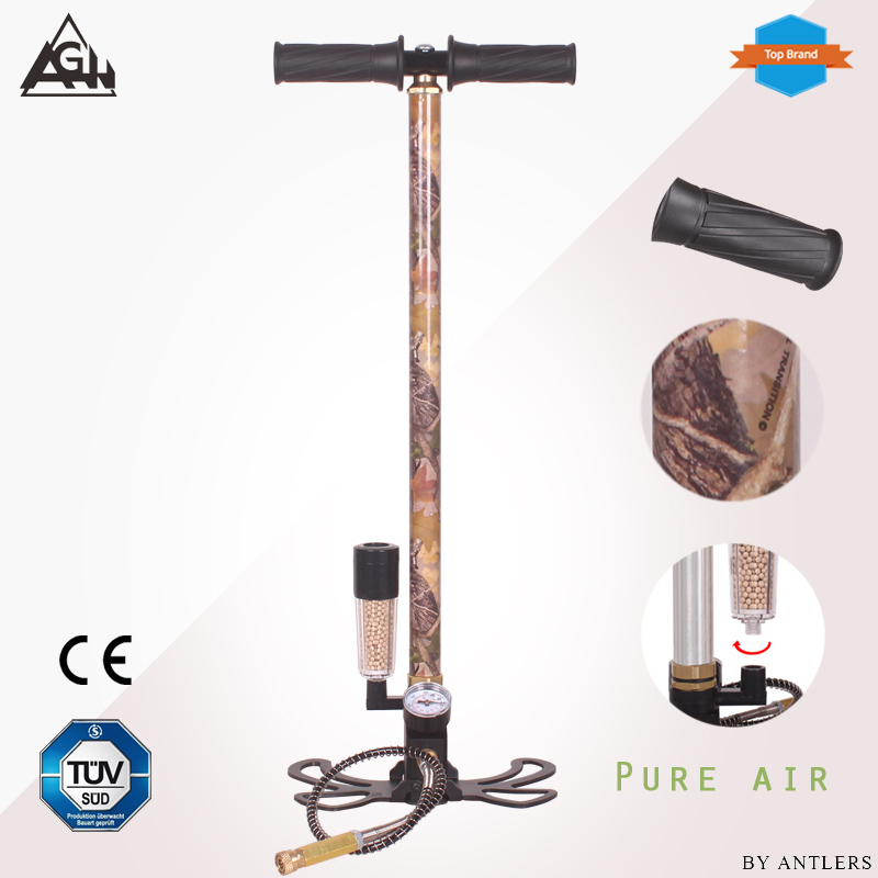 4500PSI PCP Pump Airgun Air Rifle High Pressure Pcp Hand Pump With Air Water Oil Filter 40Mpa Gauge Airsoft Paintball Pump