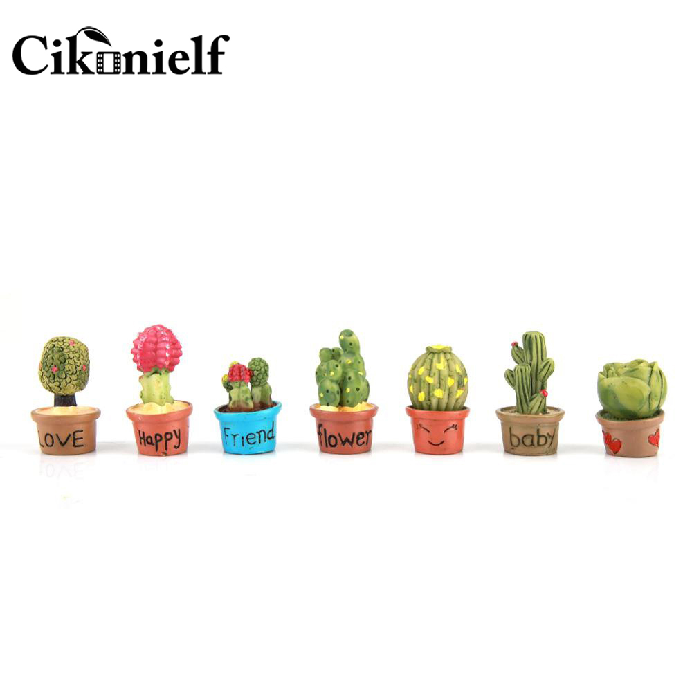 Mini Succulent Cactus Pot