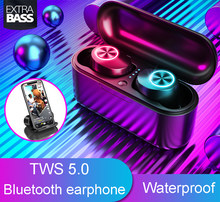 NEUE TX29 TWS Bluetooth headset 5,0 V stereo wireless ohrhörer lärm reduktion sport headset aptx wasserdichte kopfhörer(China)