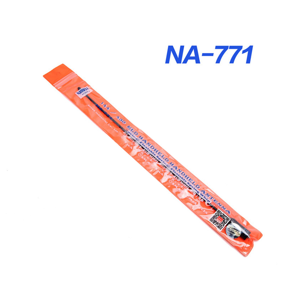 100% Original Nagoya NA-771 Two Way Radio Antenna SMA Female For Kenwood BaoFeng UV-5R UV-82 BF-888S Retevis H777 Walkie Talkie