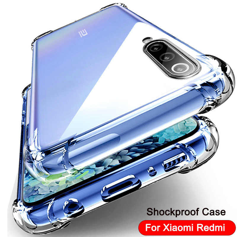 Mewah Shockproof Lembut Silicone Ponsel Case untuk Xiaomi Redmi 7A 8A Note 7 9S 8 Pro 8T 9T K30 Pro MI 8 SE 9 Lite 10 Pro Case Cover