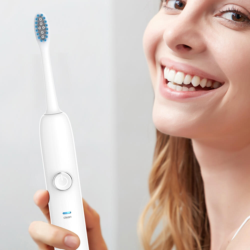 2019 Best Ultrasonic Electric Toothbrush Electronic Teeth Brush Replacement Heads Rechargeable Sonic Teeth Brush Oral Hygiene image