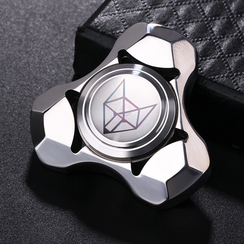 Edc Spirit Fox Hand Spinner EDC Fidget Hand Spinners Autism ADHD Finger Toy Hobbies For Adults Spinners Focus Relieve Stress E