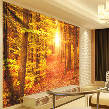 Psychedelic Sunshine Forest Landscape Tapestry Sun Wall Hanging Hippie Mandala Tapestry Tablecloth Curtain Wall Art Decor Carpet wall hanging art decor sunshine tree print tapestry