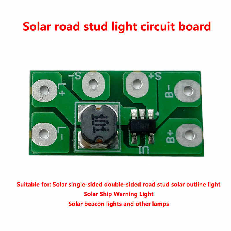 1.2V  always  Solar road stud lamp circuit board solar buried lamp control board double-sided road stud lamp circuit board
