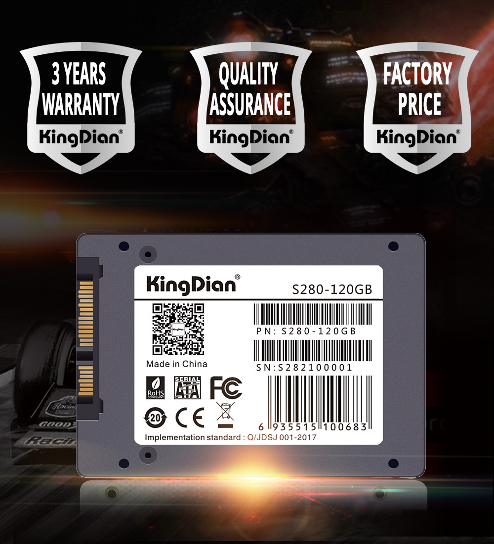 KingDian 480GB 512GB 1TB 2TB SSD SATA 2.5 HDD Hard Disk SATAIII Internal Solid State Drives For Laptop Destop H6753f6ed8b504acc826e04d0594e3d3ai Ssd