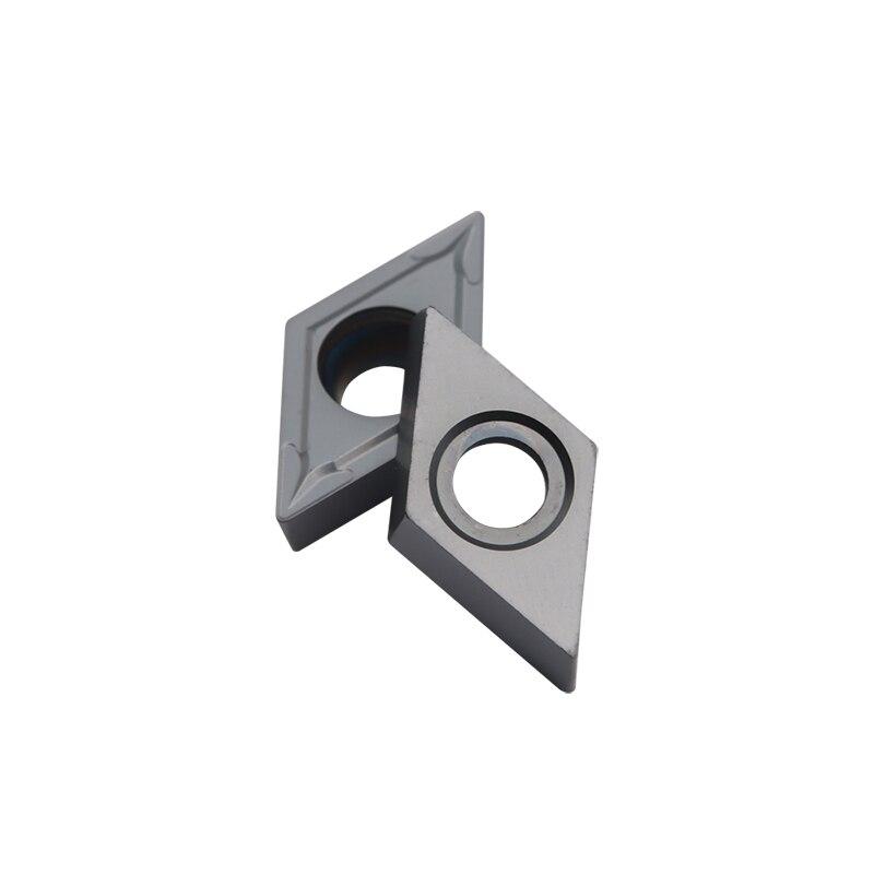 Купить с кэшбэком carbide insert DCMT11T304 YC6018 high quality CNC machine tools turning tool lathe cutting tool car blade