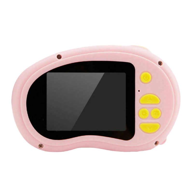 เด็กดิจิตอลกล้อง 2.0 นิ้ว HD หน้าจอ 3Mp Anti-Shake กล้องวิดีโอเด็ก (สีชมพู) กล้องเด็กของเล่นเด็กของขวัญเด็ก