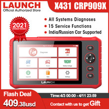LAUNCH CRP909X obd2 car diagnostic scanner professional obd2 scanner airbag SAS TPMS IMMO reset obd auto code reader crp909 X