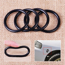 4pcs rubber O-ring 5.5cmx0.5cm for front and rear bumper luggage compartment door cover(China)