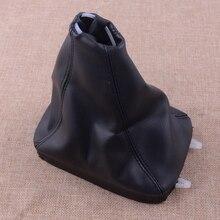 CITALL подходит для SAAB 9-3 2003-2007 2008 2009 2010 2011 2012 черный автомобиль из искусственной кожи 5 скоростей передач гетры крышка ботинка