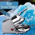 220В/180 Вт электрическая дробилка для льда из нержавеющей стали Бытовая маленькая машина для льда коммерческая машина для приготовления чая ...