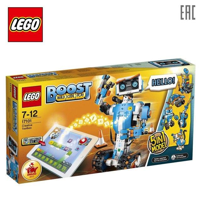 Конструктор LEGO Boost 17101 Набор для конструирования и программирования
