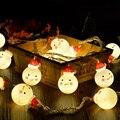 Светодиодный светильник в форме снеговика  3 м-5 м
