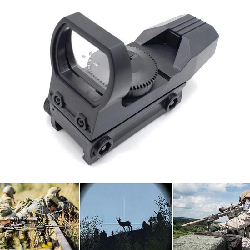 20mm optik pemburu skop senapang holografik red dot sight refleks 4 - Memburu - Foto 5
