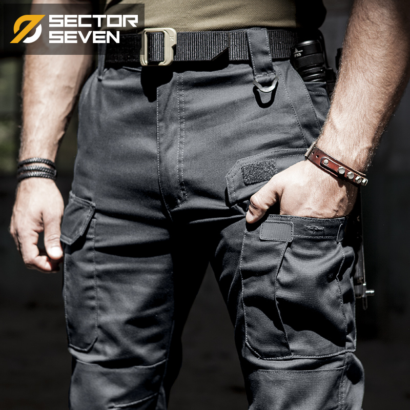 Male Trousers Tactical-Pants SWAT Active Cargo Combat Military-Work Army Cotton Mens