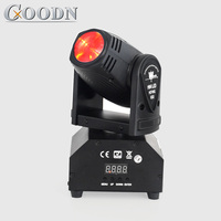 lyre spot led moving head beam rgbw 4in1 colors disco light for dj bar party