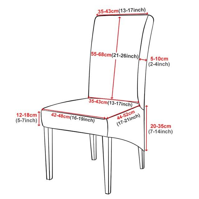 Grande taille housse de chaise XL taille longue dos housses Europe Style haut siège arrière couvre universel Restaurant hôtel fête Banquet