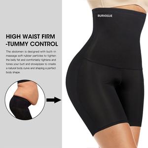 Image 2 - Burvogue High Waist Tummy Control Panties Slimming Waist Trainer Butt Lifter Shapewear Seamless Sexy Underwear Body Shaper Panty