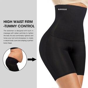 Image 2 - Burvogue גבוהה מותן בטן בקרת תחתוני הרזיה מותניים מאמן מרים התחת Shapewear חלק סקסי תחתוני גוף ומעצב תחתונים