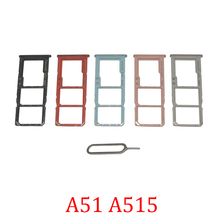 Sim-Card-Chip-Tray Phone-Housing Micro-Sd-Holder for Samsung A51/A71/A515f/.. Replace-Parts