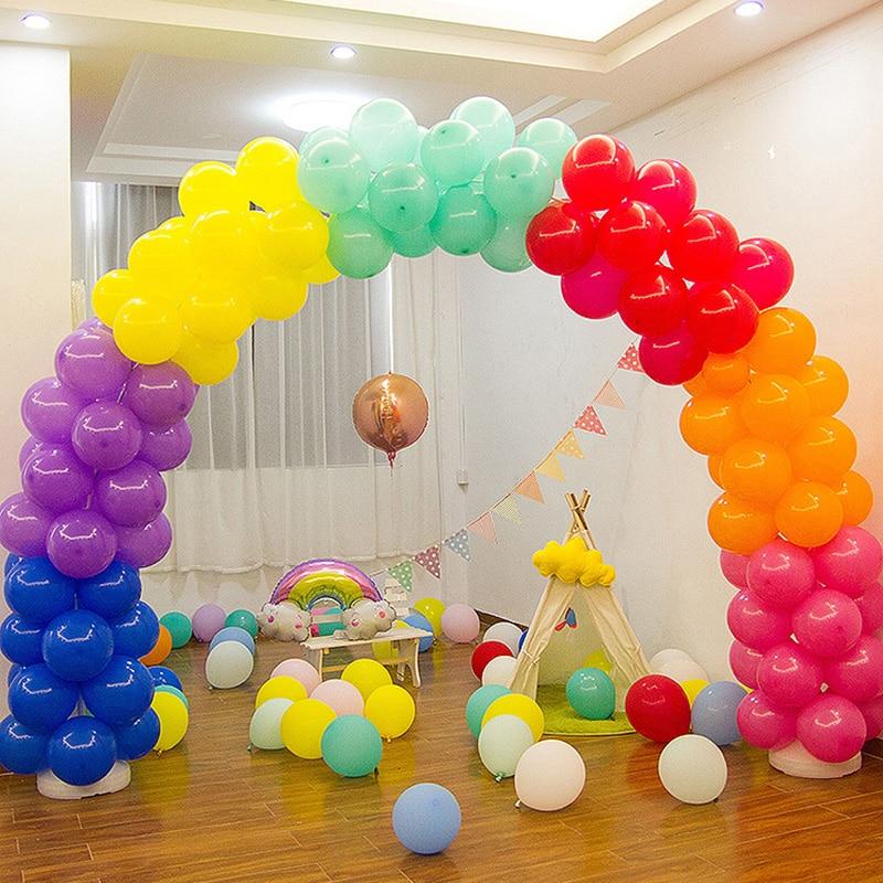 Balloon Arch Kit Birthday Party Wedding Large Set Column Frame Arch Column Stand Base DIY Wedding Party Shop Door Decoration