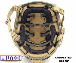 Image 2 - MILITECH Stack Built Advanced Impact Liner Padding System For Flux / FAST / MICH / OPS Core / ACH / MTEK /PASGT Ballistic Helmet