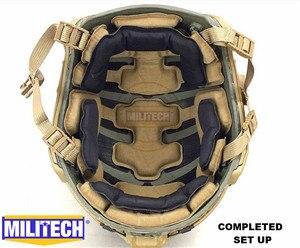 Image 2 - MILITECH Stack Gebouwd Geavanceerde Impact Liner Padding Systeem Voor Flux/SNEL/MICH/OPS Core/ACH /MTEK/PASGT Ballistische Helm