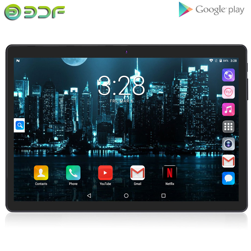 10.1 Inch Tablet Pc Android Phablet 3G Dual SIM Card Phone Call 2GB+32GB IPS Screen Google GPS WiFi Bluetooth LCD 10 Inch Tab