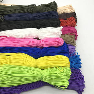 10Yards/Lot 2mm Solid Parachute Cord Lanyard Rope Mil Spec Type One Strand Climbing Camping Survival Equipment Paracord