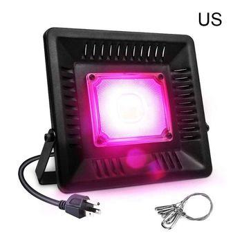 ZBGL2001, reflector LED de espectro completo ultrafino, luz rosa de cultivo, para plantas de interior Q0KF