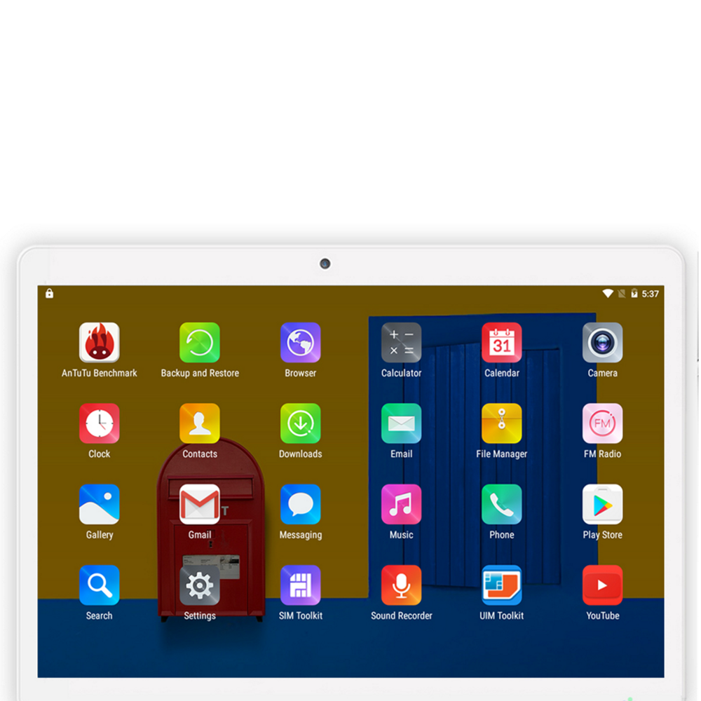 10.1inch 1280*800 Resolution 1GB+16GB Android 4.4 Business Tablet Quad-core Tablet With IPS Touch Screen For Office Work