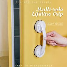 Powerful Suction Cup Handle Safe-Grip Bathroom Suction-Cup Shower-Handle Refrigerator-Handrail No-Drilling with Safe-Grip Shower
