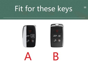 Image 5 - Funda de cuero para llave de coche, cubierta para Land Rover A9 Discovery, Range Rover Sport 4, Evoque Freelander 2 Discovery