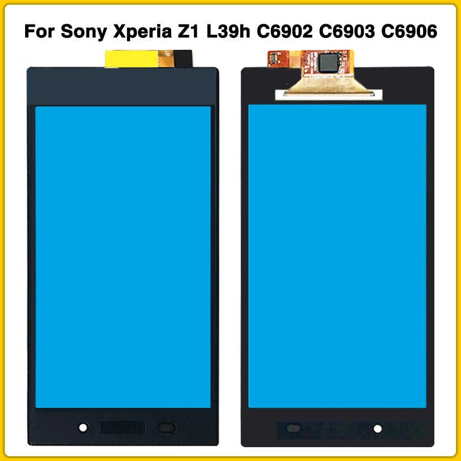 5.0 ''écran tactile pour Sony Xperia Z1 L39h C6902 C6903 C6906 écran tactile panneau capteur LCD avant verre lentille téléphone pièces