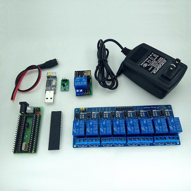 Commutateur de commande à distance 9 voies à tableau croisé IOT capteur de développement secondaire étendre la tâche de liaison multi-groupe