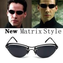 2021 mode Kühlen Die Matrix Neo Stil Polarisierte Sonnenbrille Ultraleicht Randlose Männer Fahren Marke Design Sonnenbrille Ocul