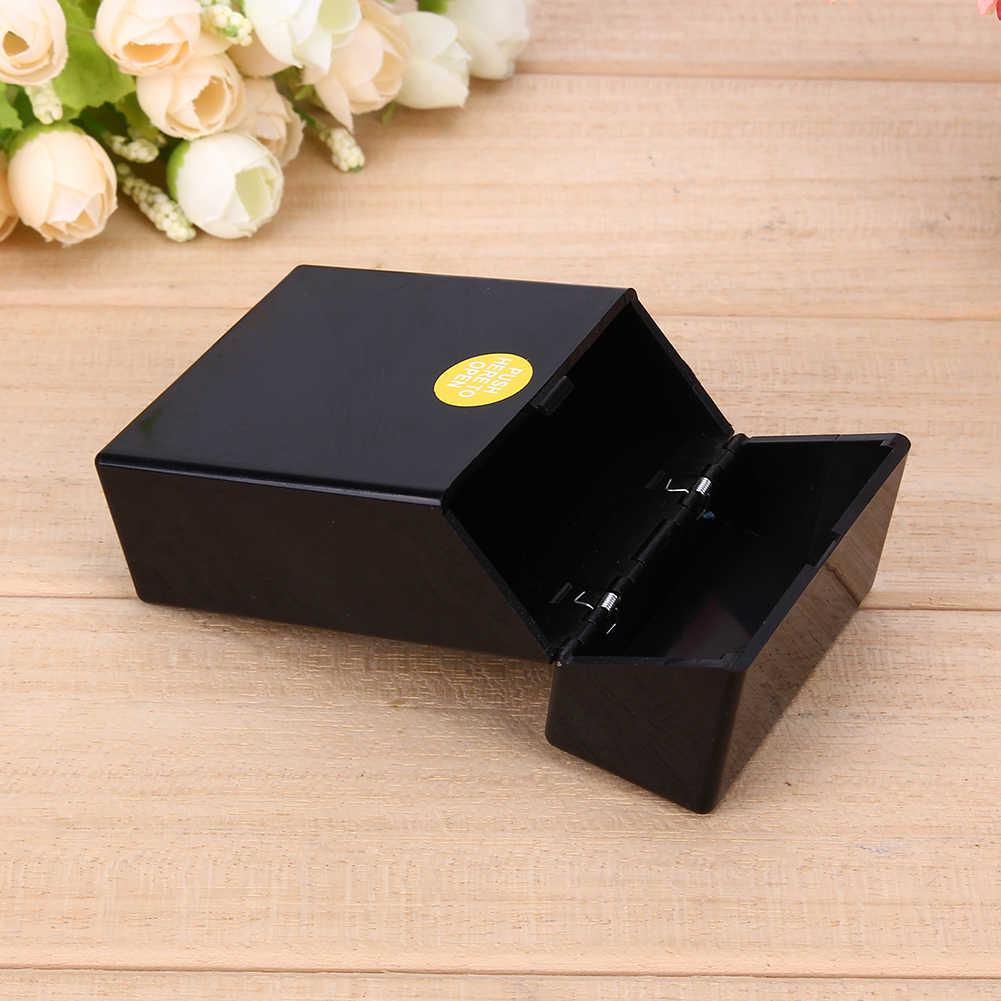 1 pièces en plastique fumer étui à cigarettes boîte de poche contenant des cigarettes mallette de rangement accessoires de fumer 10*6*3cm