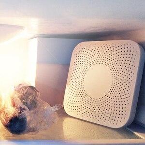 Image 3 - Youpin viomi VF 2CB quadrado branco cozinha geladeira purificador de ar do agregado familiar ozônio esterilização dispositivo deodor sabor filtro núcleo