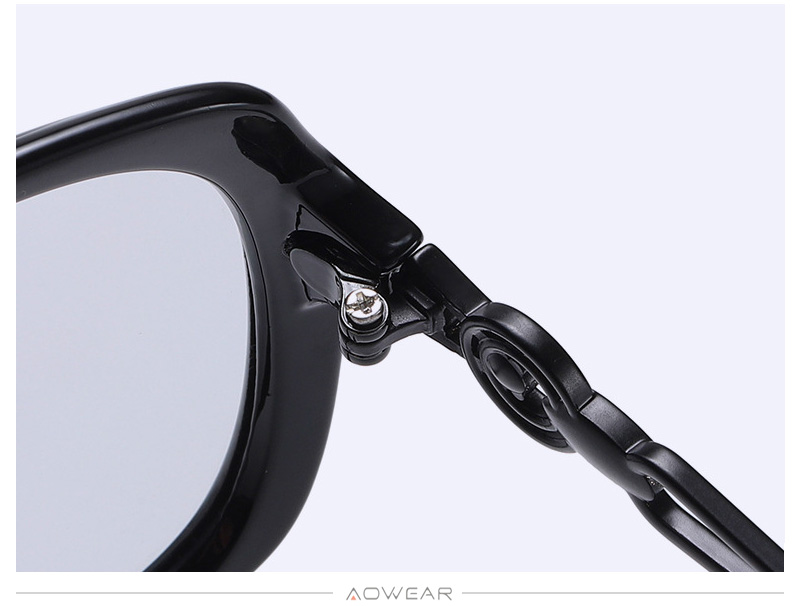 For Luxury Sunglasses Polarized Glasses Brand Retro Lady Sun 2020 Female AOWEAR Womens Eyewear Women Shades Gradient Oversized