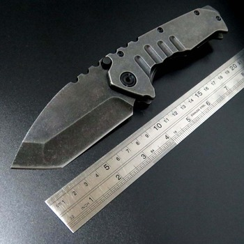 BMT Tactical Portable Folding Knife 440C Steel G10 Combat Outdoor EDC Pocket Hunting Knives Utility Survival Camping Tools 1