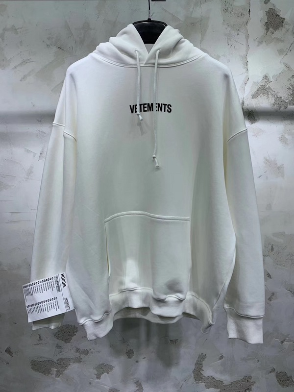 Vetements Logo Embroidery Label Sitiching Women Men Hoodies Hiphop Men Hoodie Hoody Pullover Vetements Oversized Kanye West