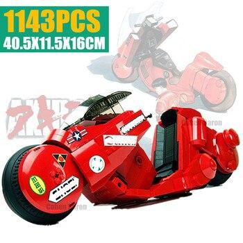 New MOC SERIES The Citizen Akira Moto Fit Lepinings Technic City Motobike Building Blocks Bricks Kid Gift Diy Toys for Children