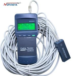 Image 4 - Wysokiej jakości NOYAFA NF 8108M kabel sieciowy Lan Tester długość drutu tester 8 zdalnego jednostki NF_8108M