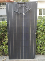 High quality cheap price ETFE semi flexible solar panel 100w panel solar for sale