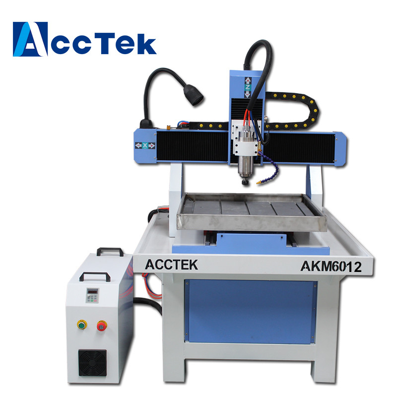 Steel Structure Table Moving Cnc Router Copper Engraving Machine AK6060 For Sale
